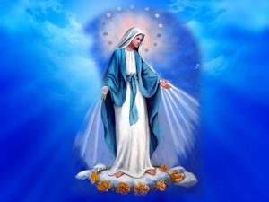Mary, Queen of Heaven, reign over us.