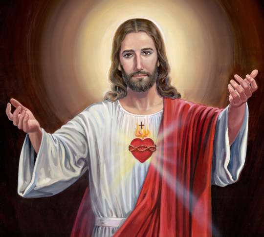 Sacred Heart of Jesus, we place all our trust in You.